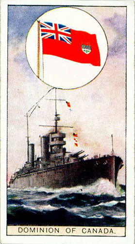 Dominion of Canada cigarette card