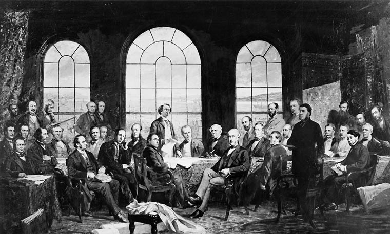 Fathers of Confederation by Rex Woods