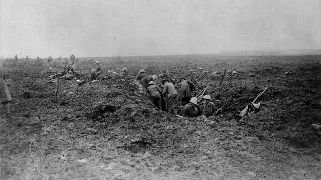 Canadians consolidate at Vimy Ridge